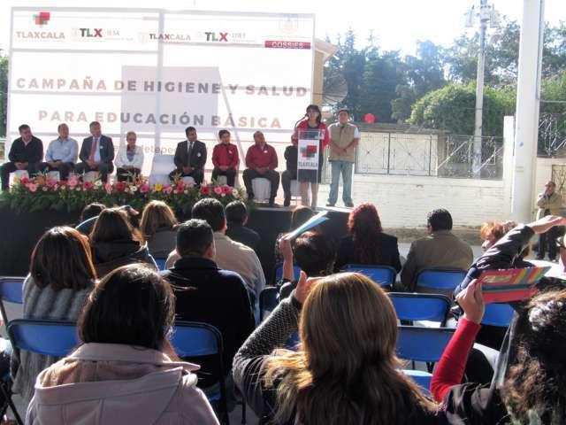 Inicia Campaña de Higiene y Salud en escuelas públicas de la Capital