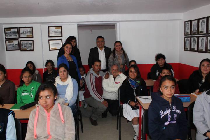 Se inauguró curso de Inglés Básico I, en la comunidad de Capulac