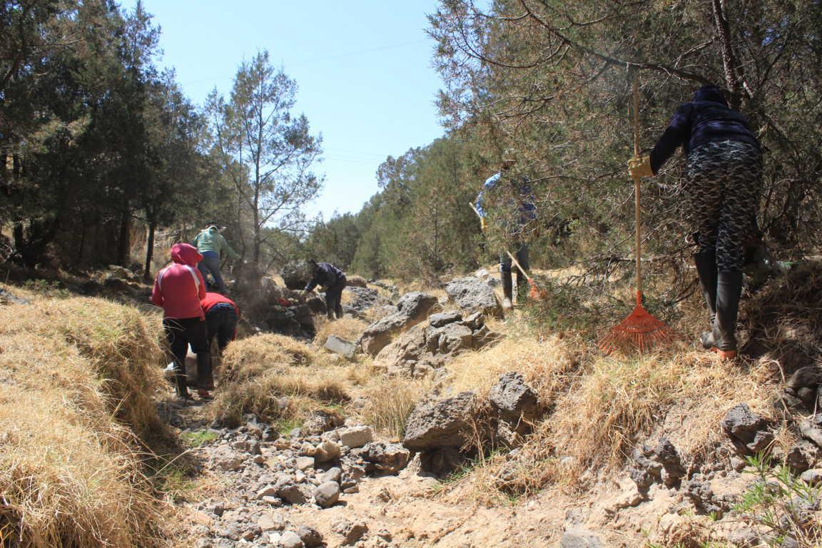 Inicia en Tetla la Segunda Etapa del Programa de Empleo Temporal 2021
