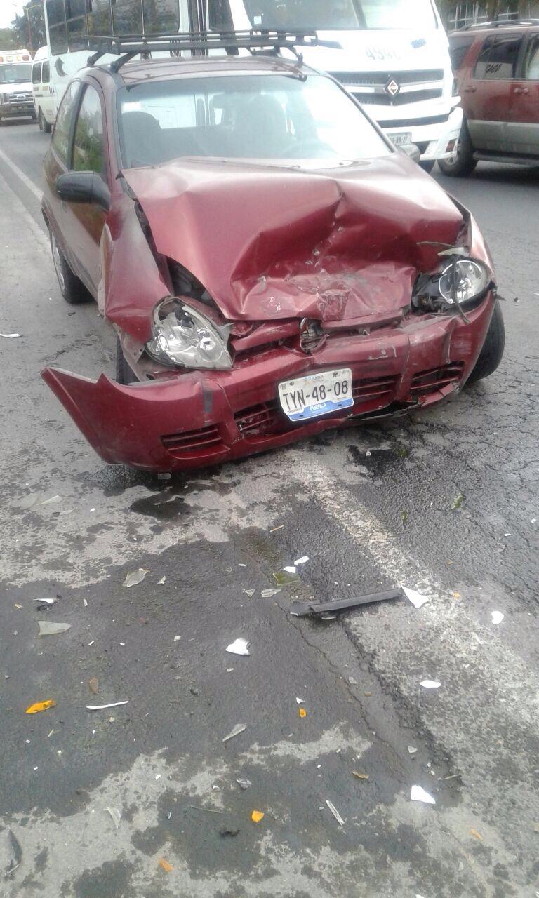 Accidente carretero en Tlaltelulco