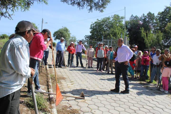 Este programa de empleo temporal beneficiara a 129 personas: Sanabria Chávez