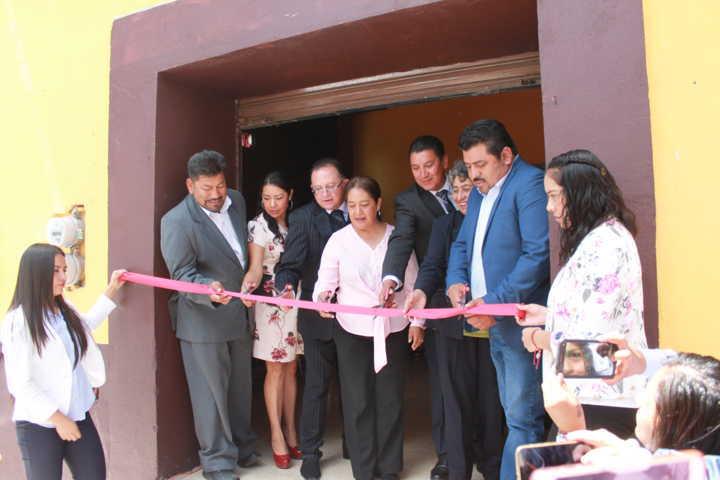 Abre CEDH octava visitaduria en el municipio de Nativitas