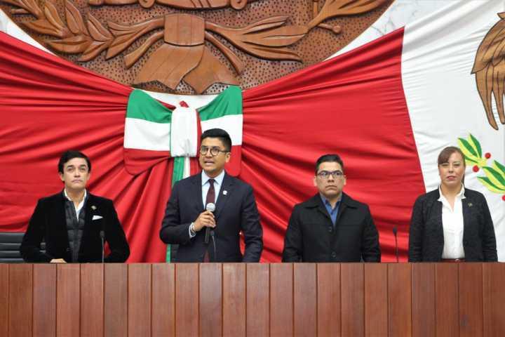 Designan como presidente de la comisión permanente del Congreso al diputado Meón