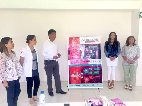 Inicia campaña para prevenir embarazos en adolescentes, en Papalotla