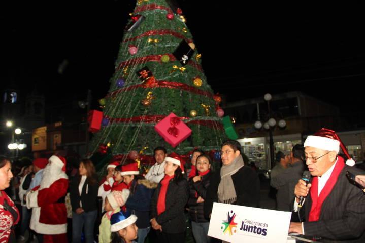 En estas fiestas decembrinas sea de reconciliación y unidad familiar: alcalde