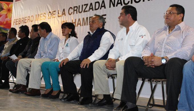 Entregan en Huamantla certificados del Programa Empleo Temporal