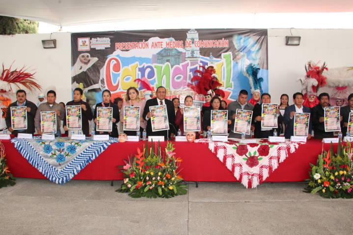 Carnaval Tetlanohcan 2018 Cultura, Pasión y Tradición llega este 9 de febrero: alcalde