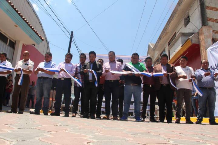 Con obras mejoramos las calles 5 de febrero y la Progreso: Cano Coyotl
