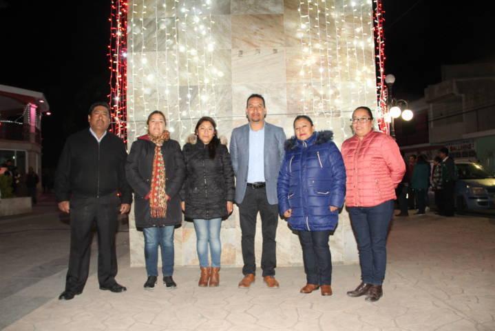 Que la magia de la navidad sea para fomentar la unidad familiar: alcalde