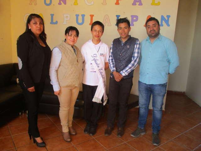 Joven calpulalpense representará a México en Paraguay