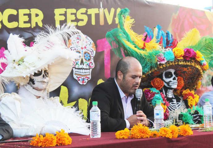 Santa Cruz Tlaxcala invita al tercer festival El Mitotl De La Catrina