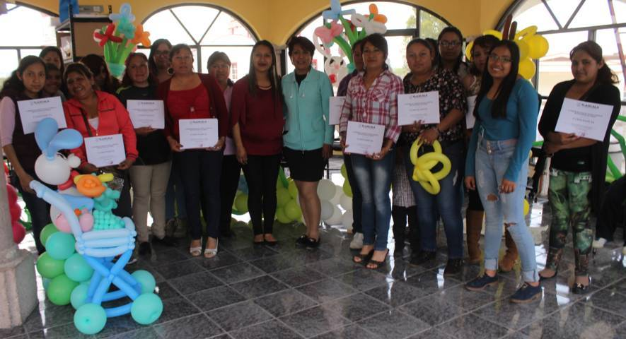 Clausura IEM taller de globoflexia en Lardizábal