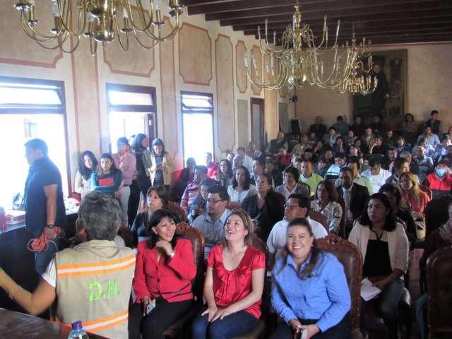 Capacitan en Derechos Humanos a personal del Ayuntamiento de Tlaxcala