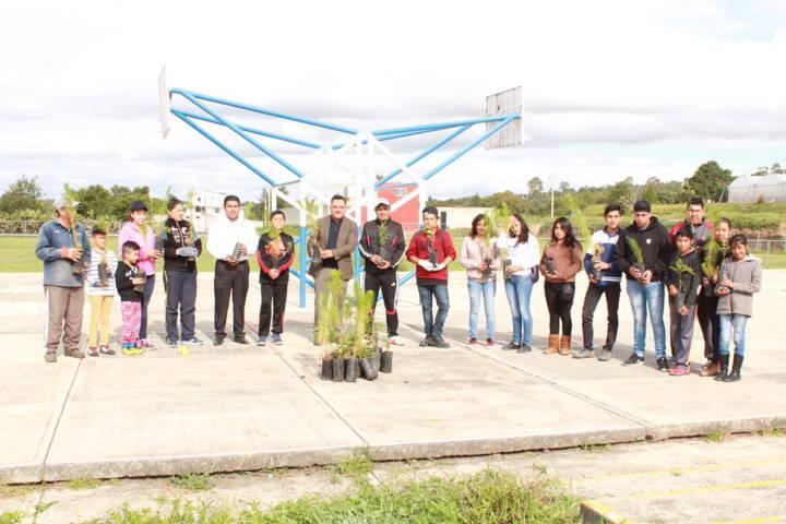 Inició En Tetla, La Campaña De Reforestación Municipal 2018