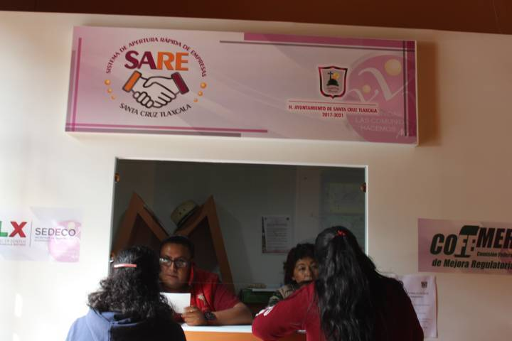 El SARE abre ventanilla única en Santa Cruz Tlaxcala