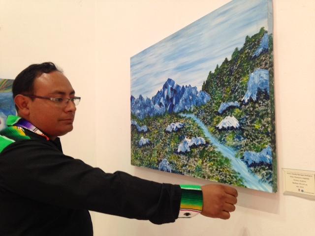 Realizan exposición pictórica Mirada Interna en Contla
