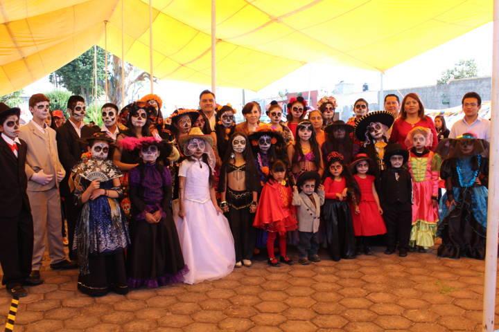 Se Realizó en Tetla el Primer Festival de la Muerte Miquiztli 2017