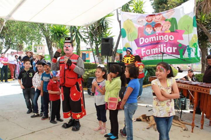 Ayuntamiento fomenta la sana convivencia con Domingos Familiares