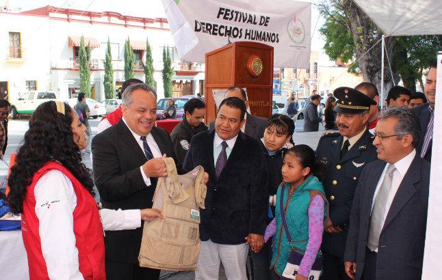 Huamantla sede del Festival de Derechos Humanos
