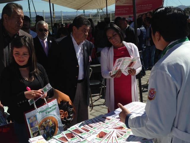 Conmemoran en Tlaxcala el Día Internacional Contra el Cáncer de Mama
