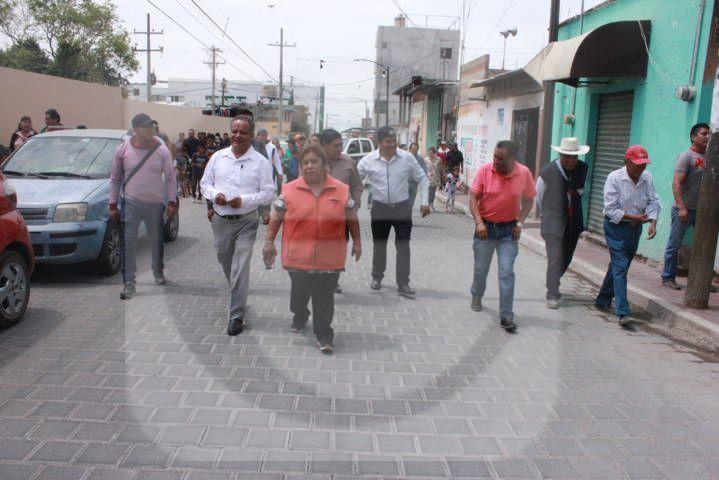 Mejorar la calle principal traerá más desarrollo al municipio: Cortés Torres