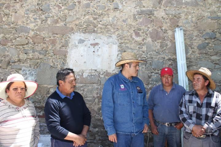 Refuerzan limpieza del cementerio en San Lucas Tlacochcalco