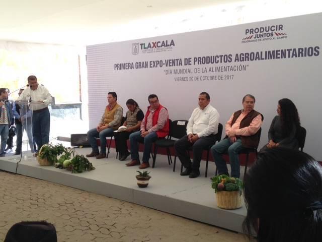 Realizan 70 productores primera Expo-venta Agroalimentaria