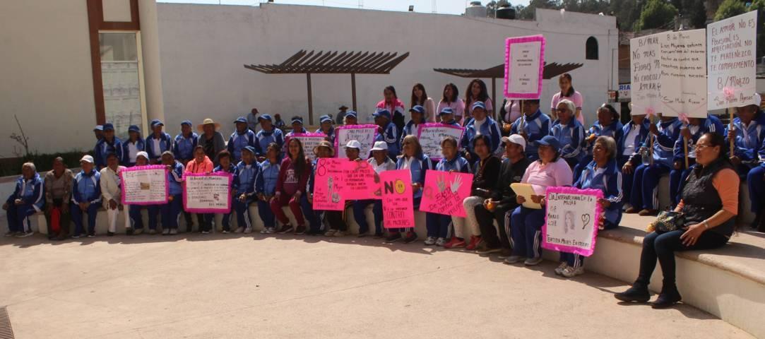Presidenta del smdif Tepetitla se pronuncia por seguir en lucha por la igualdad de género