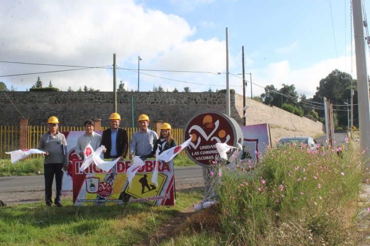 Inicia la rehabilitación de red para drenaje sanitario en Santa Cruz Tlaxcala