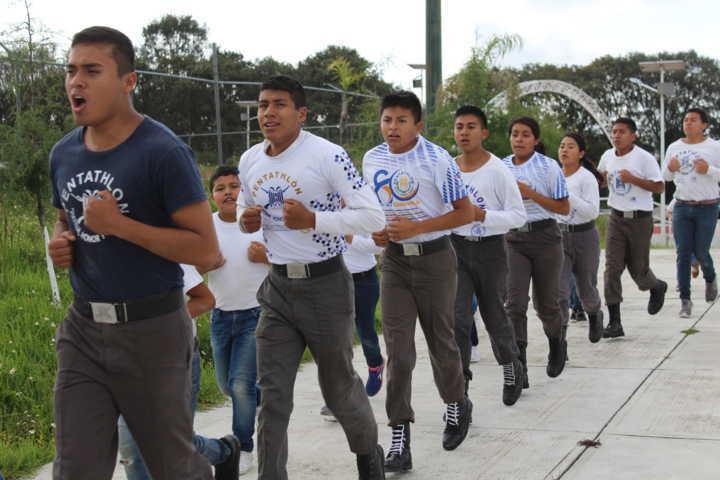 El Pentatlón universitario promueve el deporte en SPM