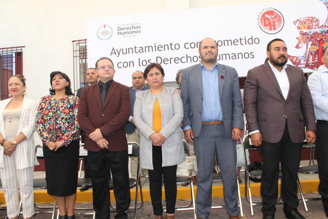 CEDH certificará ayuntamientos con distintivo DH