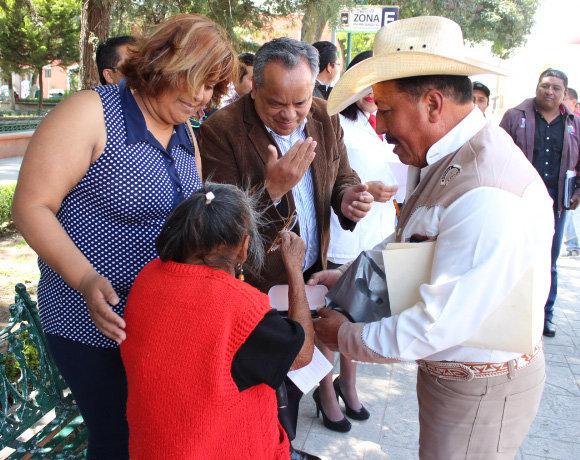 Ayuntamiento de Huamantla continúa con acciones que benefician a quienes más lo necesitan