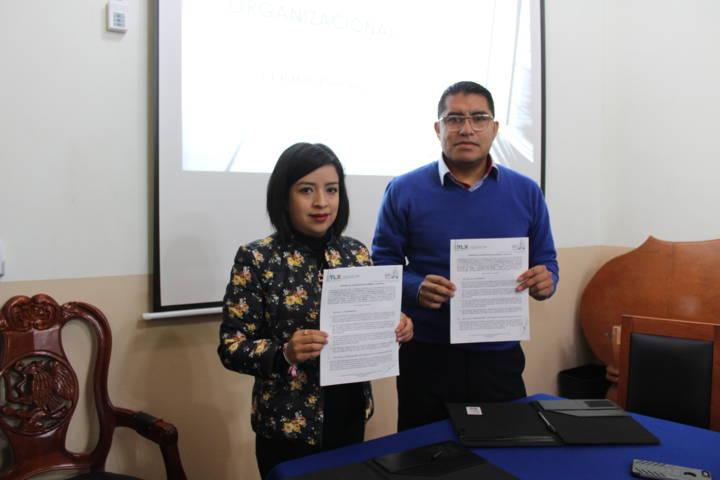 Ayto. de Tetla, Firma Convenio de Concertación Académica y Científica con el CECUTLAX-IPN