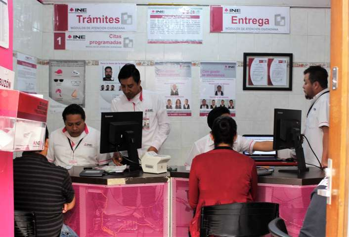 Más de 70 mil credenciales para votar no han sido renovadas en Tlaxcala: INE