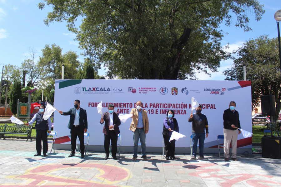 Reconocen al Ayuntamiento De Santa Cruz Tlaxcala por su compromiso en materia de salud
