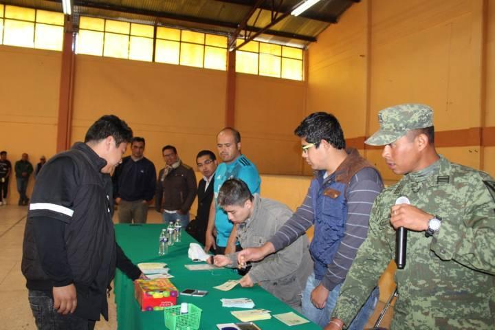Llevaron a cabo autoridades de Santa Cruz Tlaxcala sorteo del SMN