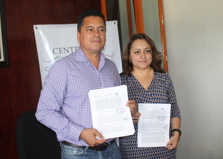 Signan convenio de colaboración Ayuntamiento e INAPAN