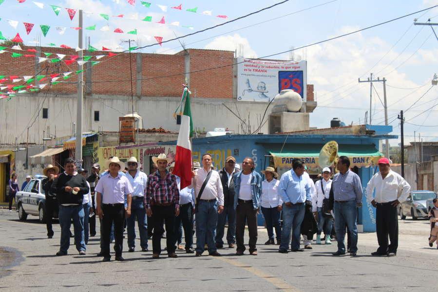 Alcalde fija Bando Solemne y arrancan los festejos patrios en Nativitas