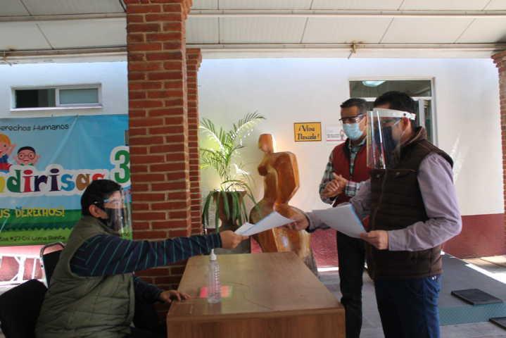 A pesar de la pandemia; la CEDH no dejó de atender a los ciudadanos