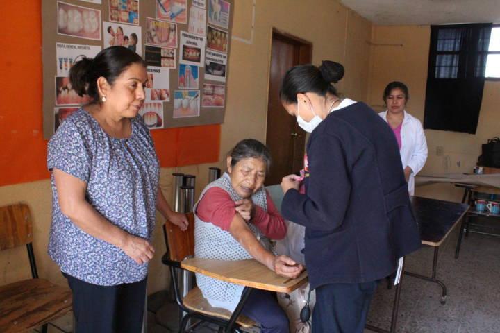 El DIF municipal de SPM acerca Jornadas de la Salud en Buensuceso