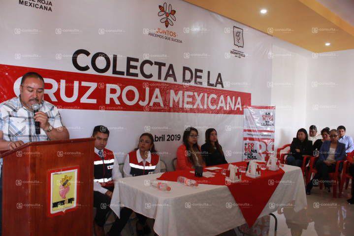 Badillo Jaramillo se suma a la colecta anual de la Cruz Roja