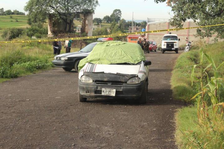 Con signos de tortura encuentran dos muertos en los límites de Ixtacuixtla-Texmelucan