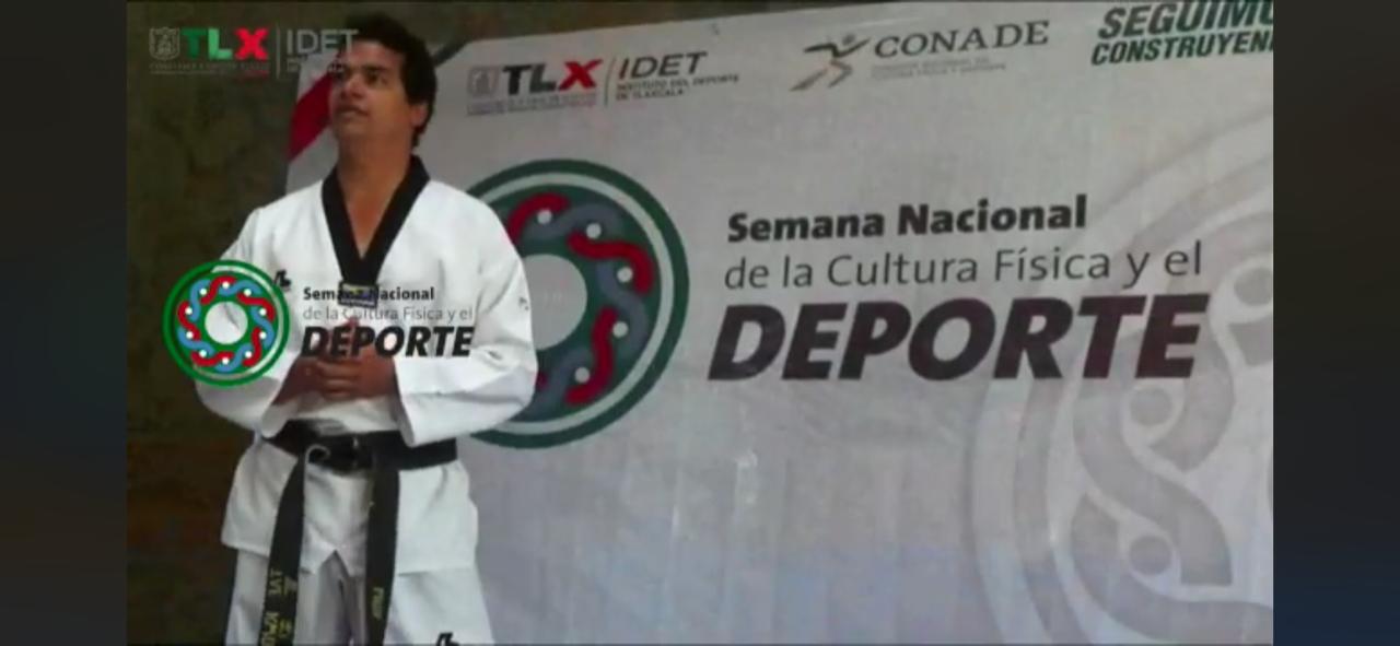 Inició en Tlaxcala la Semana Nacional de la Cultura Física y el Deporte