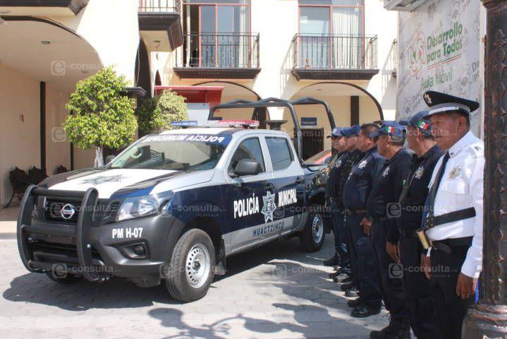 Valencia Muñoz refuerza la seguridad en el municipio con una patrulla nueva