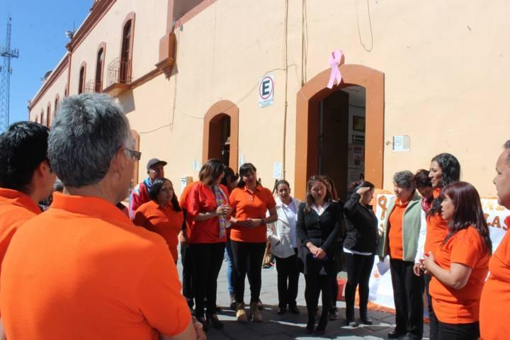 Llaman en Santa Cruz Tlaxcala a erradicar la violencia contra las mujeres