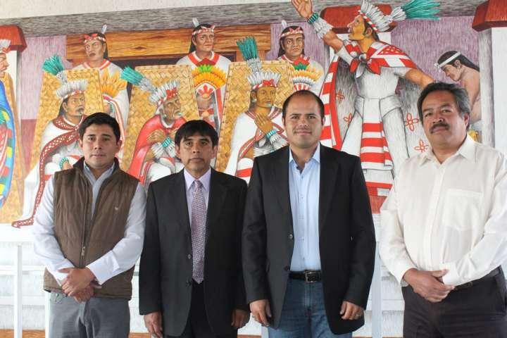 Inauguran mantenimiento de obra pictórica en Santa Cruz Tlaxcala