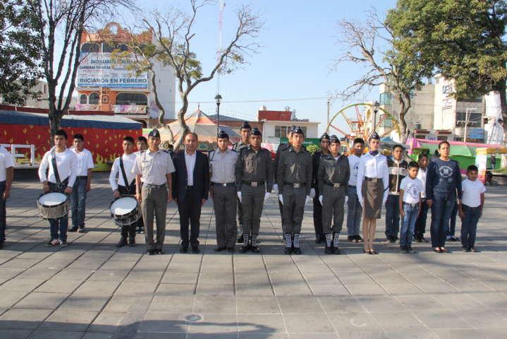 Alcalde conmemora centenario de la Constitución Mexicana