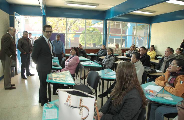 Supervisa MCH capacitación dirigida a docentes sobre el nuevo modelo educativo