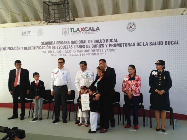 Arranca segunda semana nacional de salud bucal en Tlaxcala