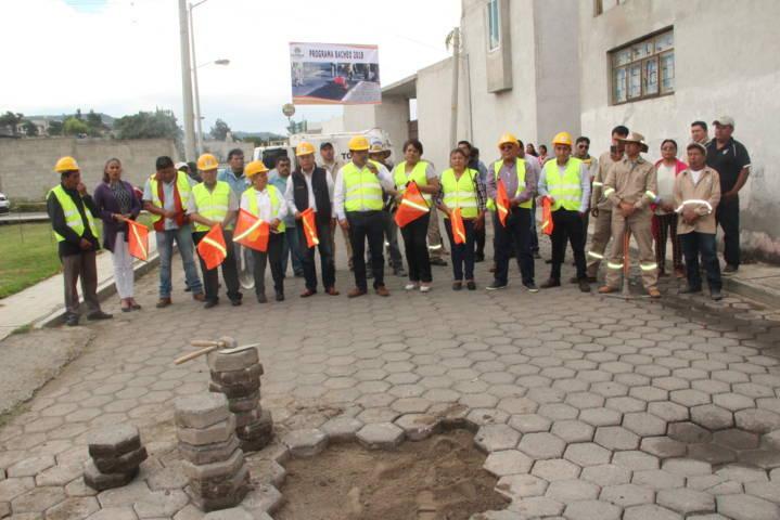 Con una inversión de 250 mil pesos bachearemos 48 calles del municipio: alcalde